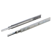 Sleek Telescopic drawer Slide (I)-35- Soft Close