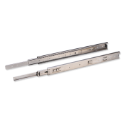 Sleek Telescopic Drawer Slide - 45 kg (SS 304)