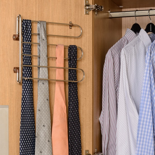 Tie And Belt Holder