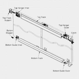 Hi Slide Overlay - 2 door with Soft Close - 80 Kgs