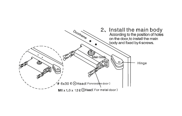 Door Closer 201 Basic