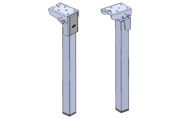 Ebco Folding Leg For Wall Bed Fittings