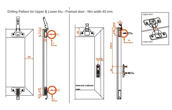Ebco Salice Folding Door System