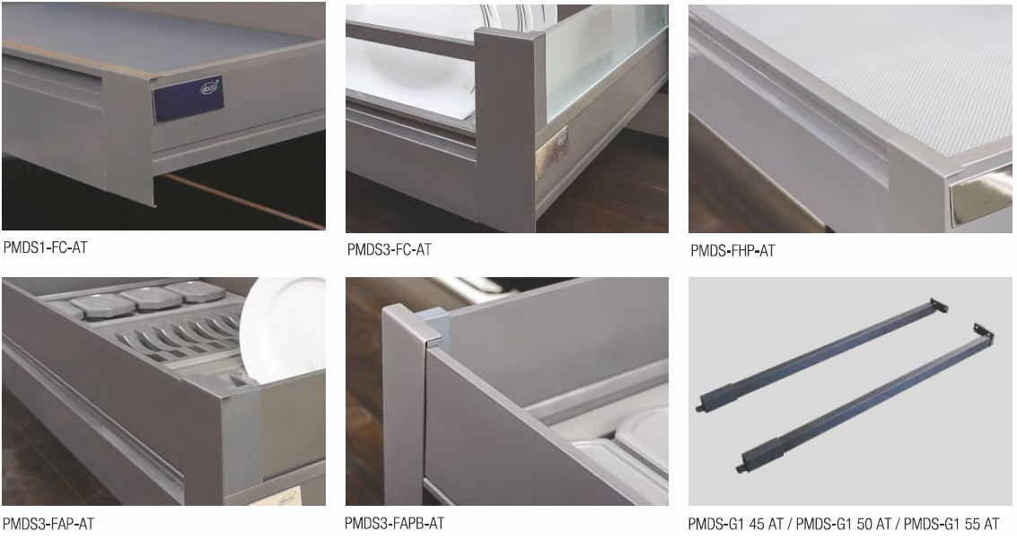 Pro Motion Drawer System N Series Anthracite Pro