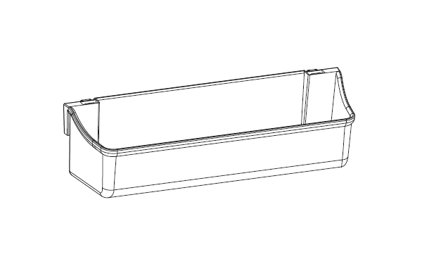 Ebco Shelf Tray