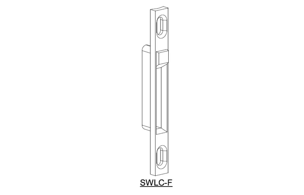 Ebco Sliding Window Latch - Receiver Plate
