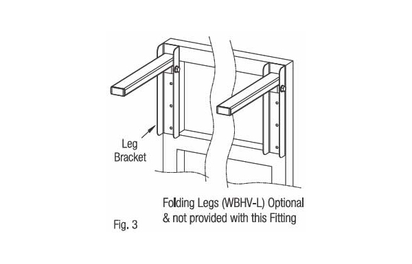 Ebco Wall Bed Fittings - Horizontal