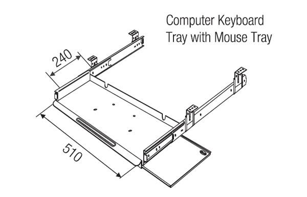 computer keyboard drawer computer keyboard tray readymade keyboard tray